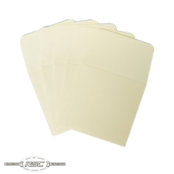 Tan Archival Paper Coin Envelopes - Pack of 50