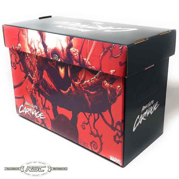 Absolute Carnage Short Comic Box - Case of 5