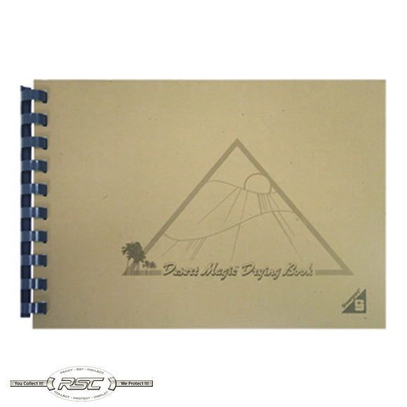 Original Desert Magic Drying Book for Small Stamps