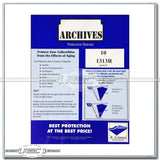 Archives 33 RPM Vinyl Records 4-Mil Mylar Sleeves