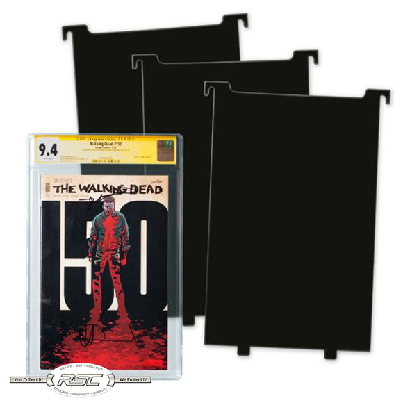 Partitions (Dividers) for Graded Comic Book Bin