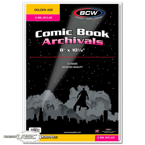 Archivals Golden Age 2-Mil Mylar Comic Bags