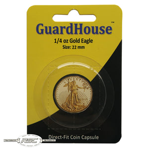 Direct-Fit Coin Capsule for 1/4-Oz American Gold Eagle