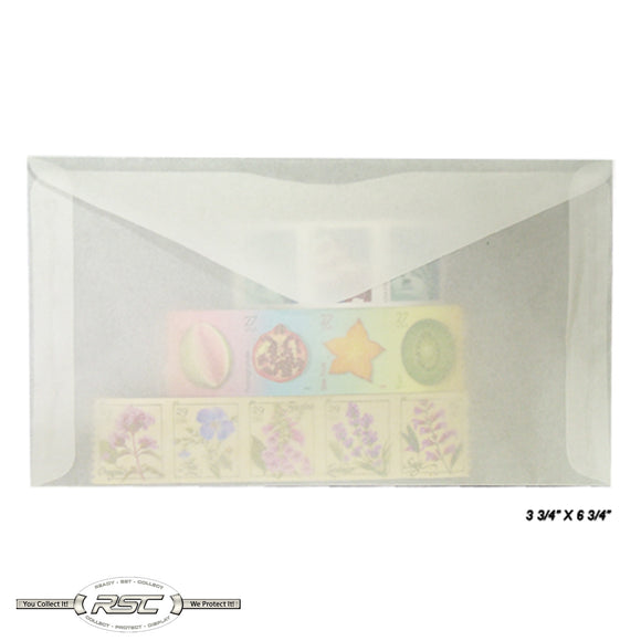 #6 Glassine Envelopes - Pack of 50