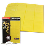 18-Pocket Pro Pages - Yellow