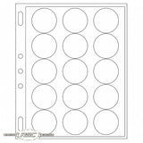 ENCAP Clear Pages for 44/45mm Coins in Capsules