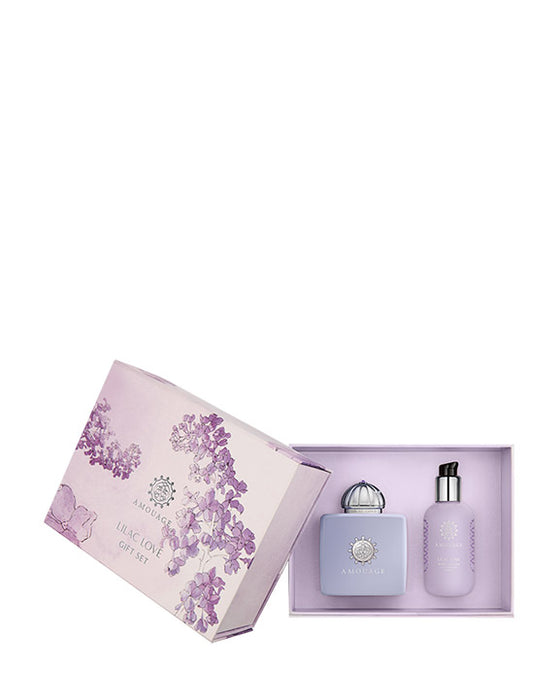 Amouage Lilac Love Gift Set EDP+Body Lotion W - Niche Essence