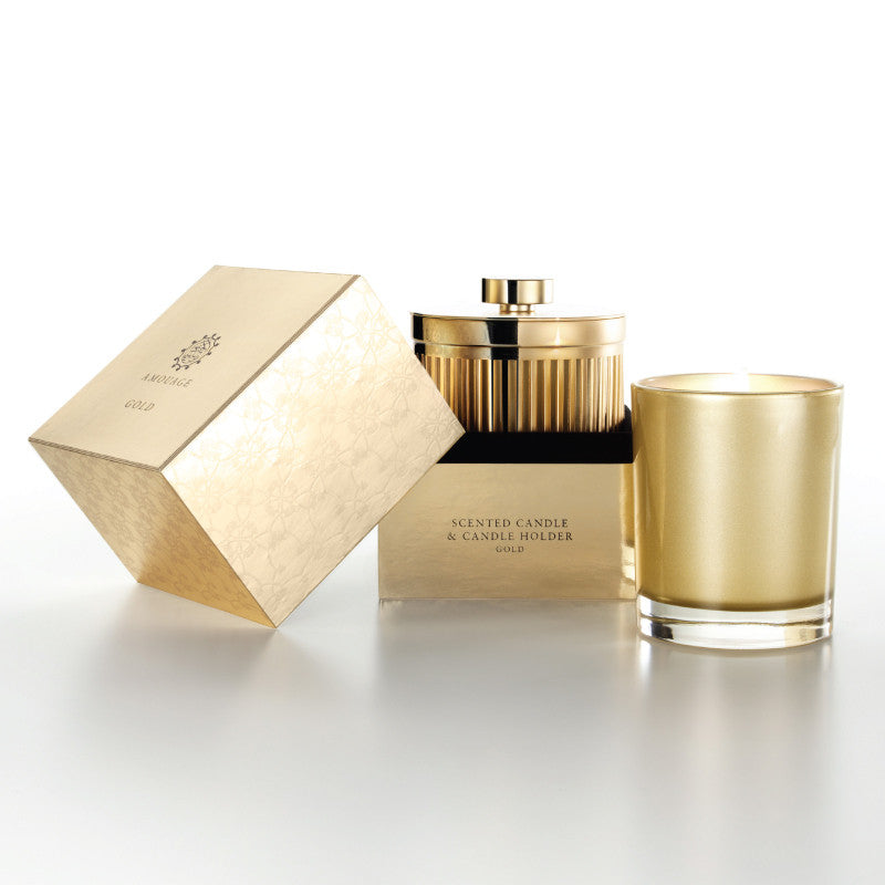 Amouage Gold Candle With Holder W - Niche Essence
