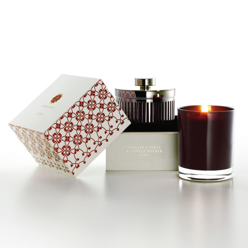 Amouage Lyric Candle With Holder W 195g - Niche Essence