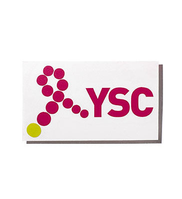 YSC Diecut Phone Sticker