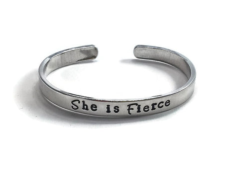 She is Fierce Cuff Bracelet