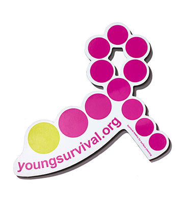 YSC Car Magnet
