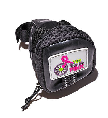 YSC Tour de Pink Saddle Bag