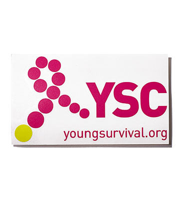 YSC Diecut Laptop Sticker