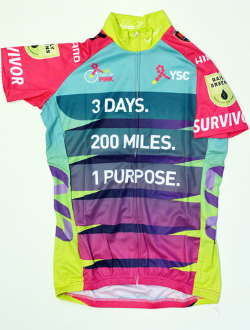 2017 Tour de Pink South Survivor Jersey