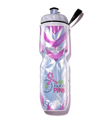 YSC Tour de Pink Polar Water Bottle