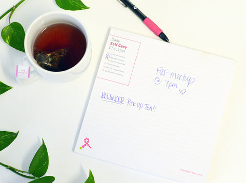 Self-Care Note Pad