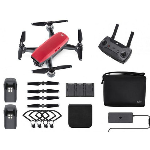 DJI Spark Fly More Combo Package - UKDRDIRECT