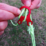 10pcs Quick Knot Rope Buckle