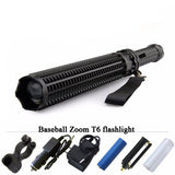 LED Tactical Flashlight ( Baseball Bat Self defense Torch Lamp)