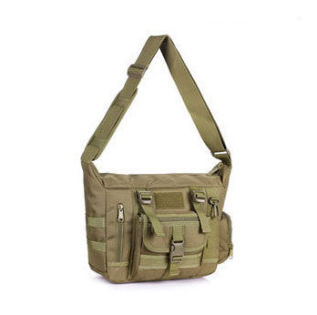 Outdoors Casual Military Tactical Bag  Acu CP Camouflage Army Green Mens Bag Hiking Travelling Sport Army Duffel Messenger Bag