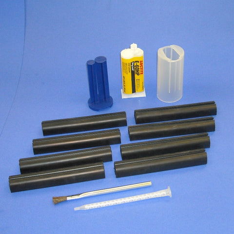 "Rubber Channel Set - 6"" Part # MP110"