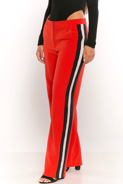 Joan Pants in Red