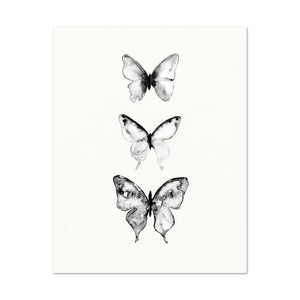 3 Butterflies No.7