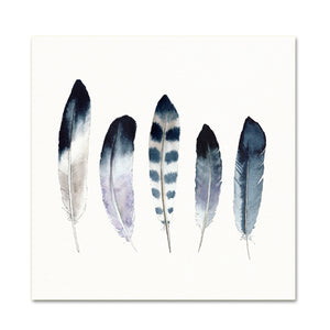 5 Feathers No. 15