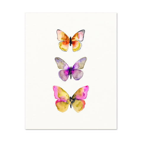 3 Butterflies No.5
