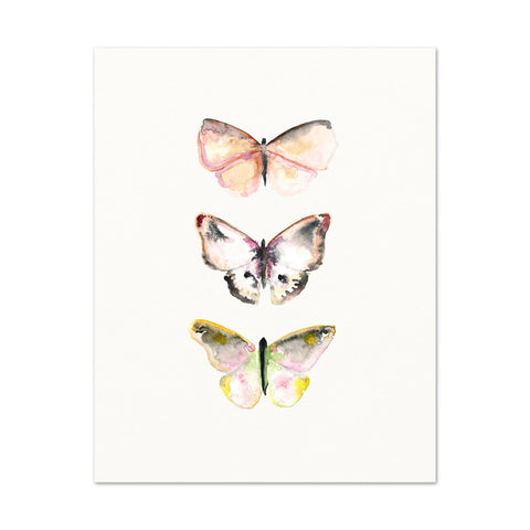3 Butterflies No.2