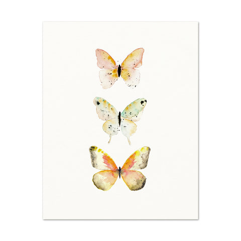 3 Butterflies No.3