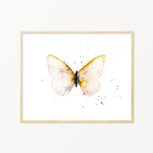 Lone Butterfly No. 10