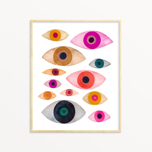 Many Eyes No. 2