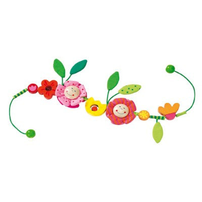 Blossom Stroller Chain Toy from Haba - Gemgem  - 1