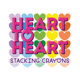 Ooly Heart To Heart Stacking Crayons