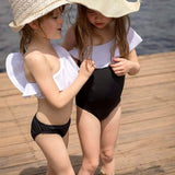 Stella Cove Black Girls Swimsuit