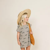 Rylee + Cru BUNNY T-SHIRT DRESS - Gemgem  - 2
