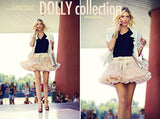 DOLLY by Le Petit Tom THUMBELINA pettiskirt ivory cream - Gemgem  - 3