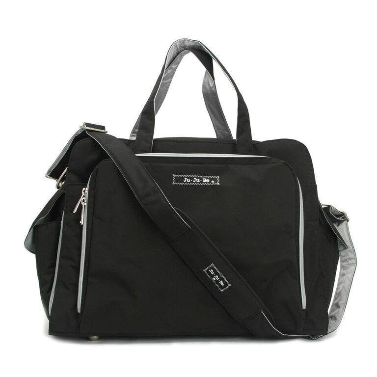 JuJuBe Diaper Bag Black/Silver