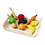 [Plan Toys] Assorted Fruits & Vegetables - Gemgem  - 1
