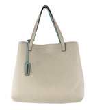 Street Level Reversible Tote Sage/Ivory