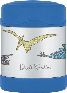 Dwell studio Dino 10 OZ Funtainer Food Jar - Gemgem