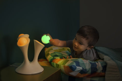 Boon Glo. Color-changing Nightlight with Portable Glowing Balls