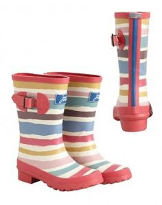 Little joules girls rain boots - Gemgem