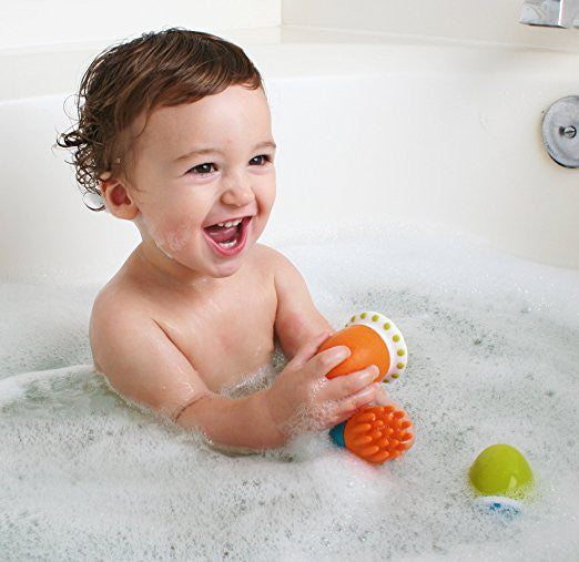 Boon Scrubble Interchangeable Bath Toy Squirt Set