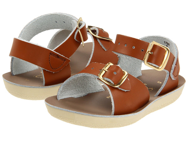 Salt Water Sun-San Surfer Sandals Tan