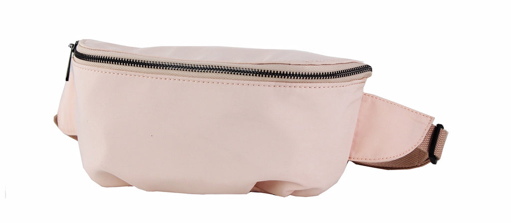 Street Level Pink Nylon Fanny Pack