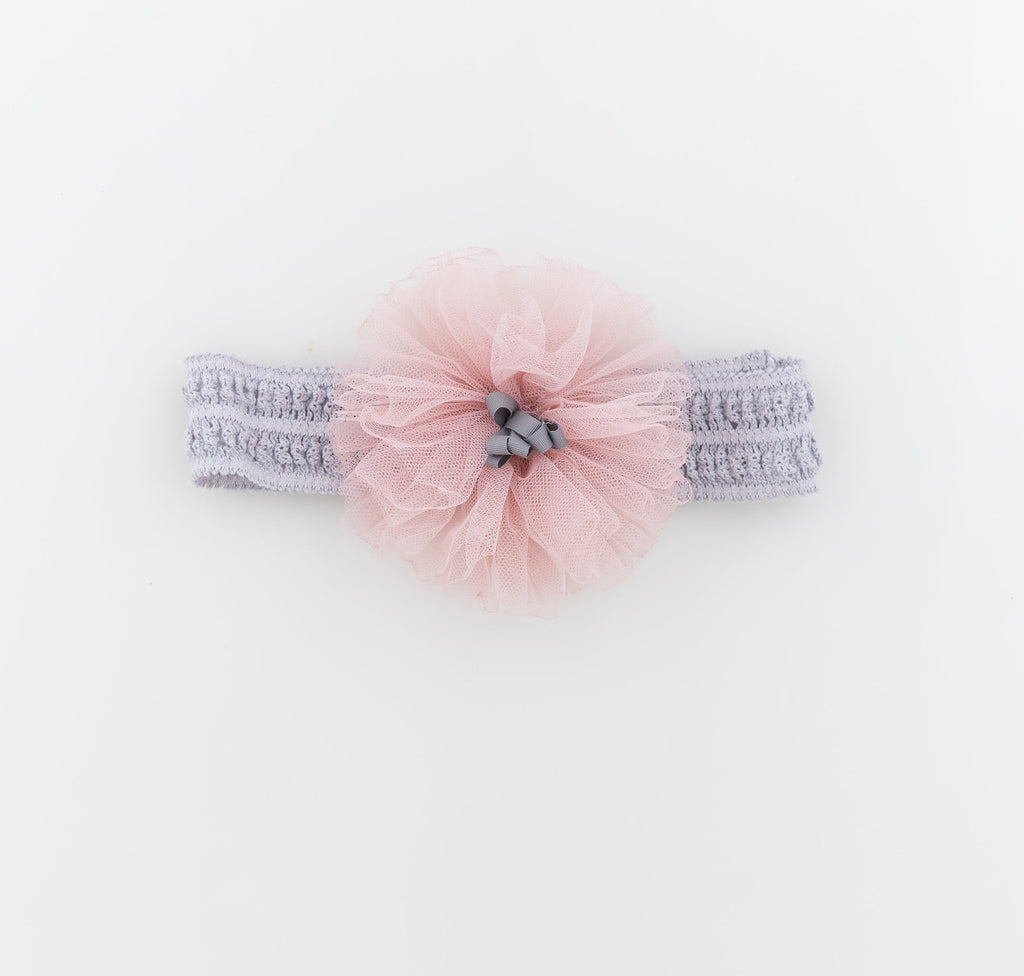Handmade Flower Headband (baby girls) - Gemgem  - 1
