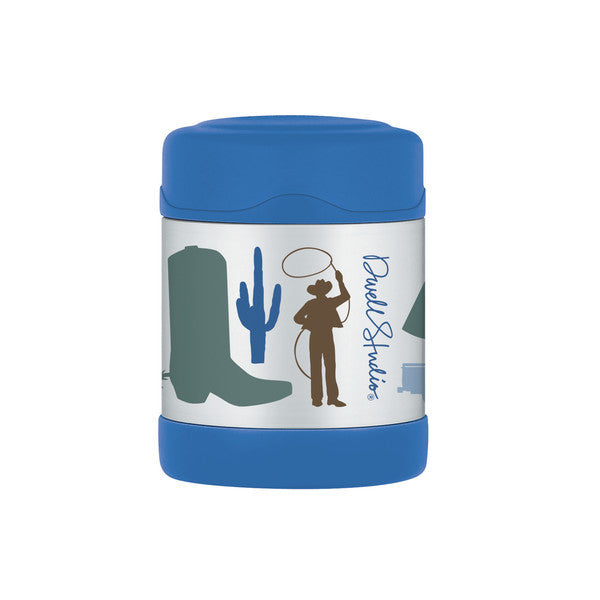 Dwell studio Cowboy 10 OZ Funtainer Food Jar - Gemgem